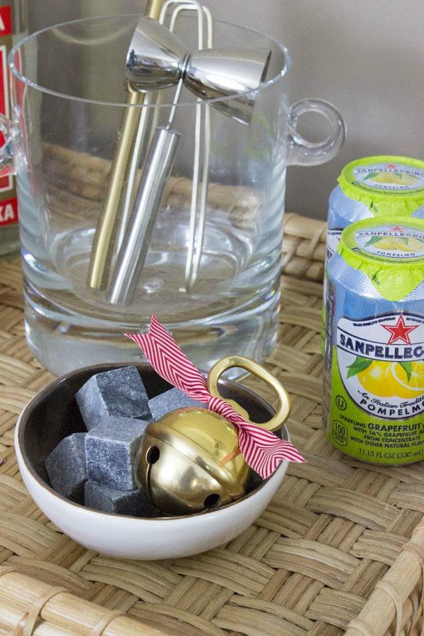 Jingle bell bottle opener