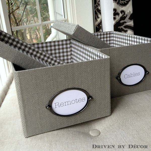 My favorite storage boxes (attractive and cheap!) - IKEA's KVARNVIK boxes