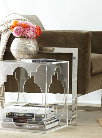 Acrylic & Lucite Furniture – My Favorite Finds!