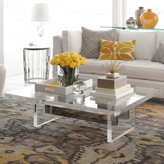 Lucite Coffee Table.Acrylic Lucite Furniture My Favorite Finds Driven By Decor