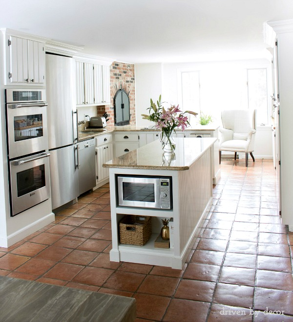Kitchen Flooring Options - Opinions Please! | Driven by Decor on back porch floors, travertine floors, linen floors, woodshop floors, updated bathroom floors, model home floors, bedroom floors, small bathroom floors, art floors, formica floors, cabin floors, vintage camper floors, laundry room floors, upcycled floors, family room floors, patio floors, exterior entrance floors, dining floors, classroom floors, living room floors,