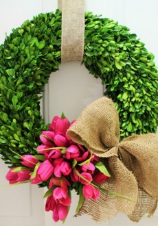 Six Gorgeous Spring Wreaths to Dress Up Your Front Door!