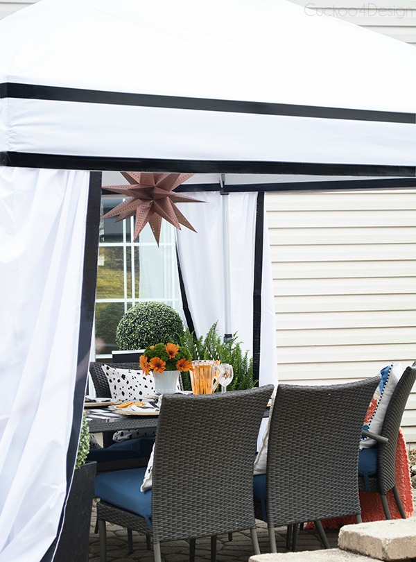 Cuckoo4Design - DIY Outdoor Cabana