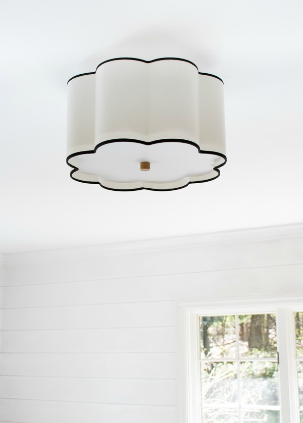 Gorgeous flushmount light!