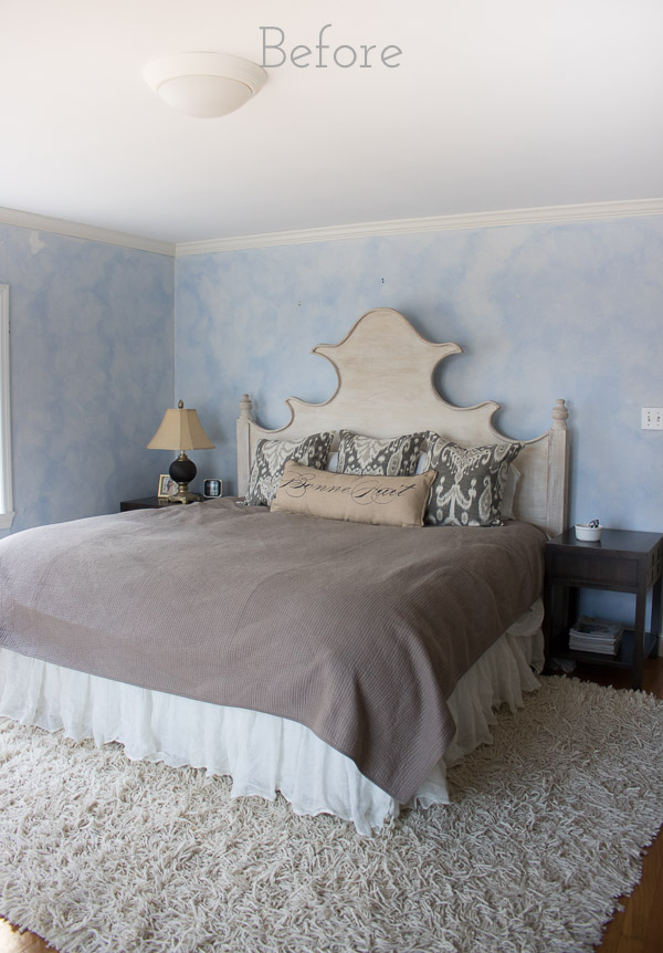 Our master bedroom before remodeling