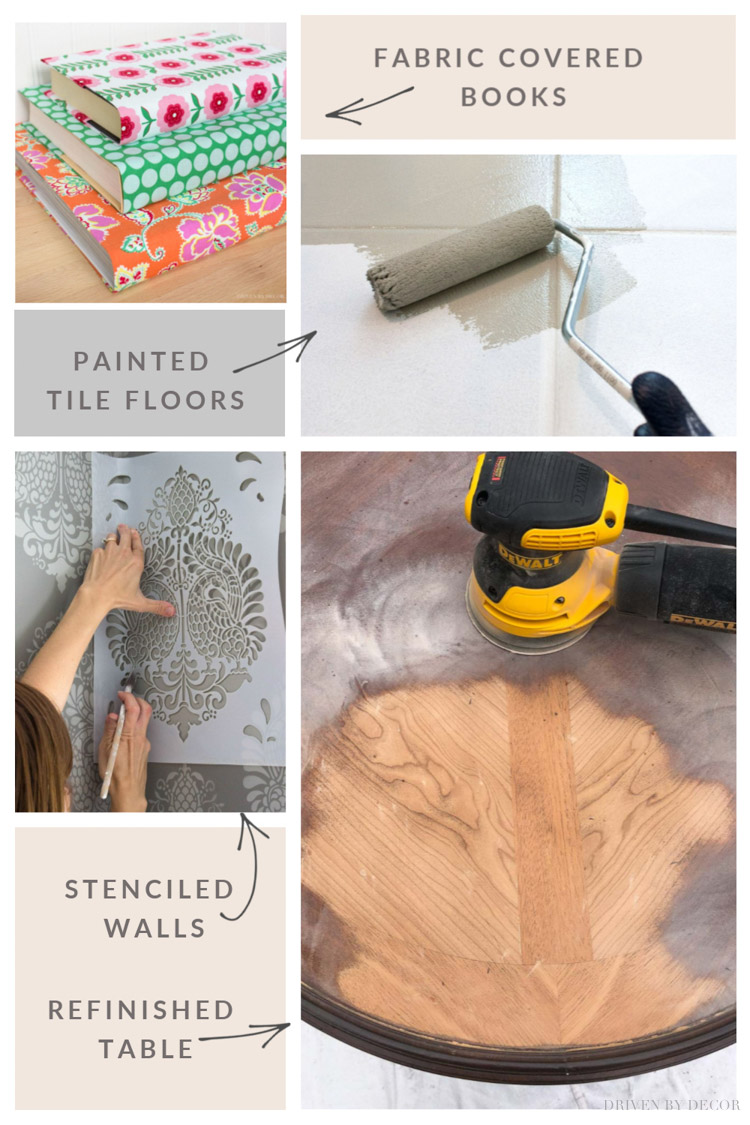 My 10 all-time favorite DIY projects!