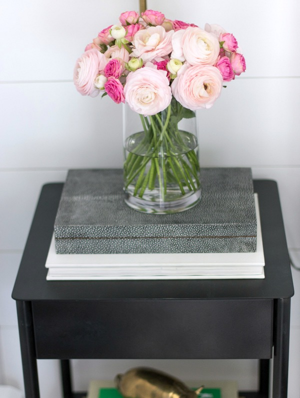 The perfect small black nightstand