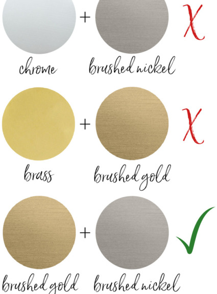 How to Pull Off Using Mixed Metals in Your Home