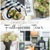 Driven by decor fall home tour 2016