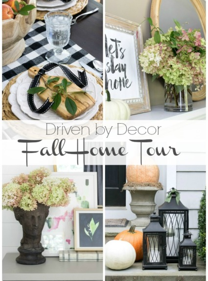 My 2016 Eclectically Fall Home Tour