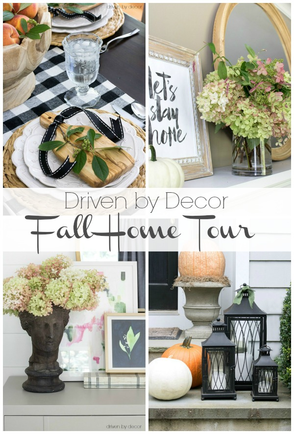 My Home Decor Guide: My 2016 Eclectically Fall Home Tour
