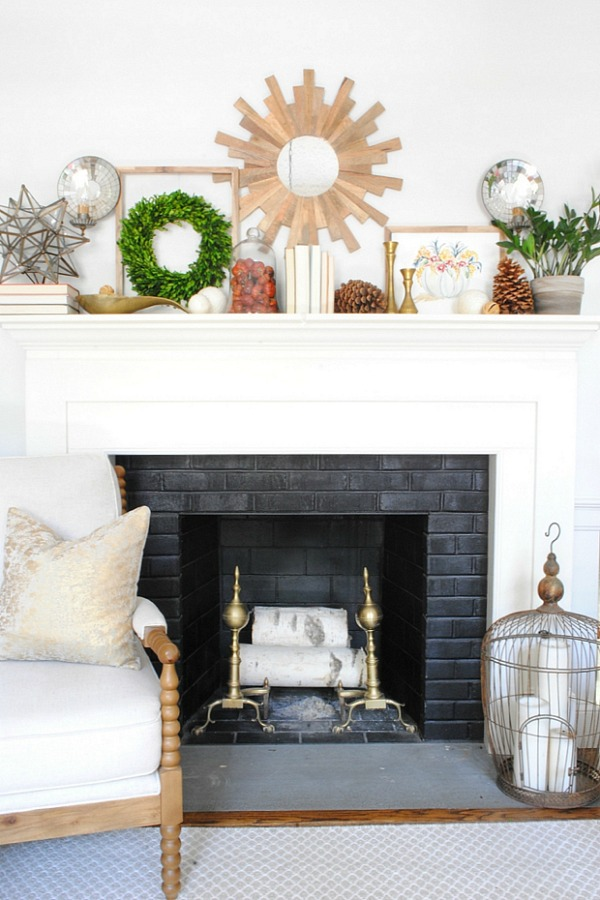 Fall Mantel - The Chronicles of Home