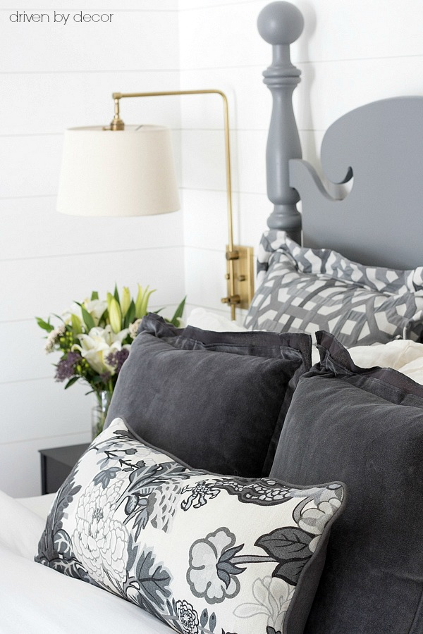 Pillows 101: How to Choose & Arrange Throw Pillows Driven by Decor