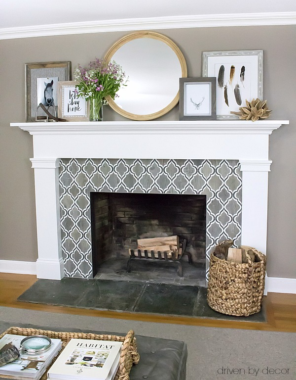 My five favorite ways to create your own art driven by decor for Design your own fireplace