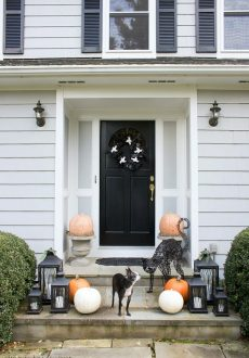 Halloween at Our House (and New Black & White Faves From IKEA!)