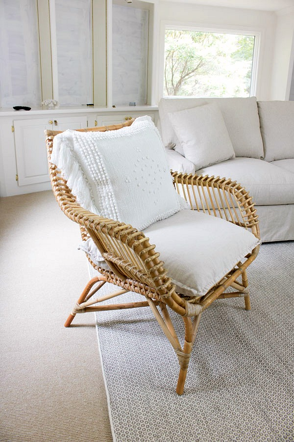 Gorgeous rattan accent chair
