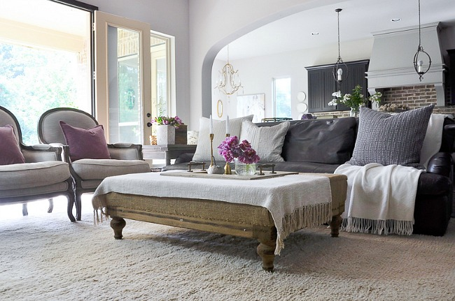 Tips For Styling Your Coffee Table Including Using Accessories Like  Candlesticks To Add Height