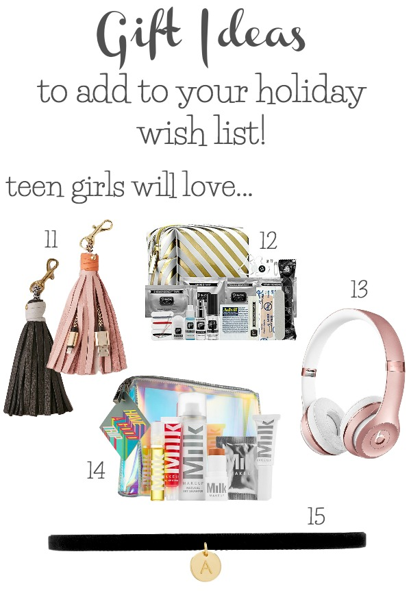Great Christmas gift ideas for teen girls on your list!