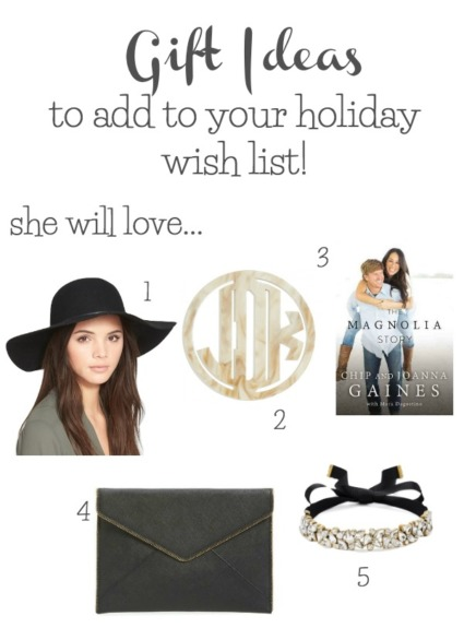 My Fifteen Favorite Christmas Wish List Gifts
