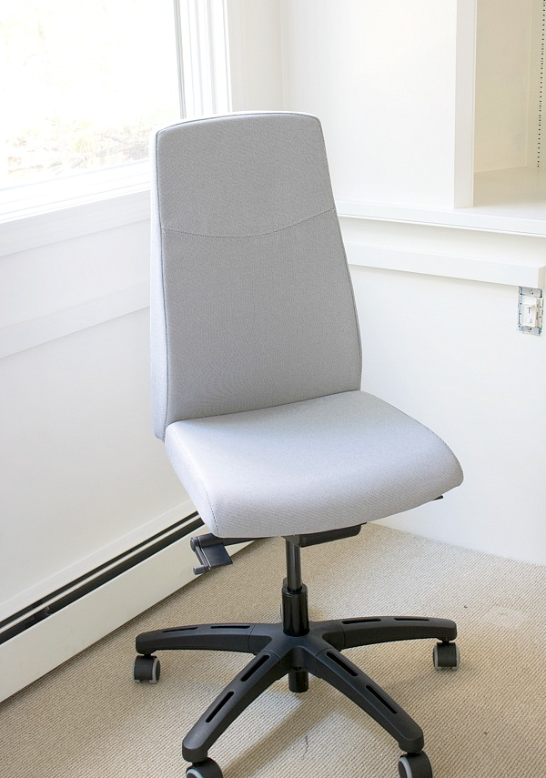 IKEA VOLMAR desk chair in Unnered Gray