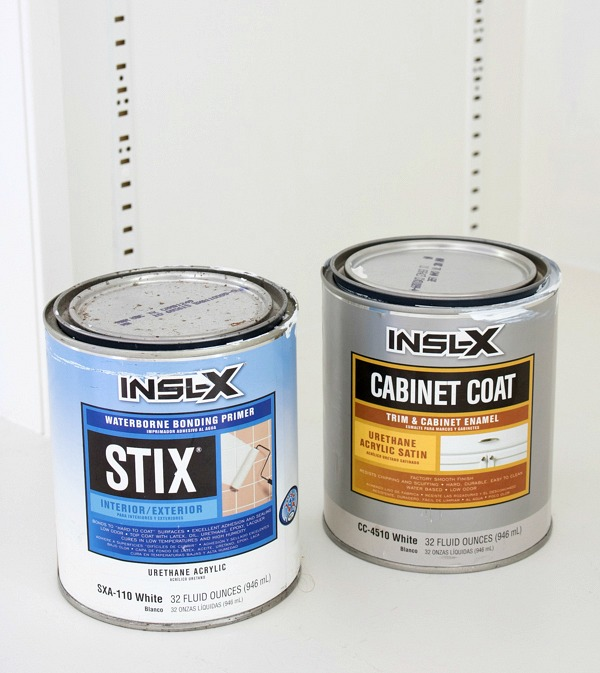 INSL-X STIX and Cabinet Coat for painting bookcases