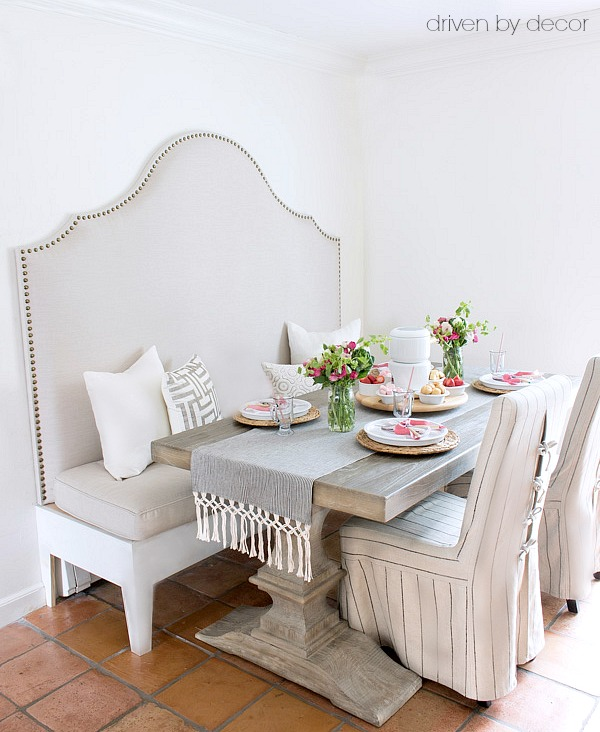 How to Build a Banquette (Our Kitchen Banquette is Done ...