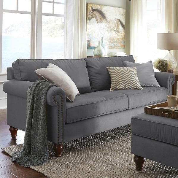Pier1 Alton sofa in graphite