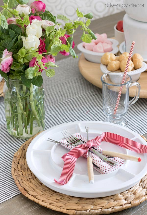 A Valentine's Day Chocolate Fondue Feast!