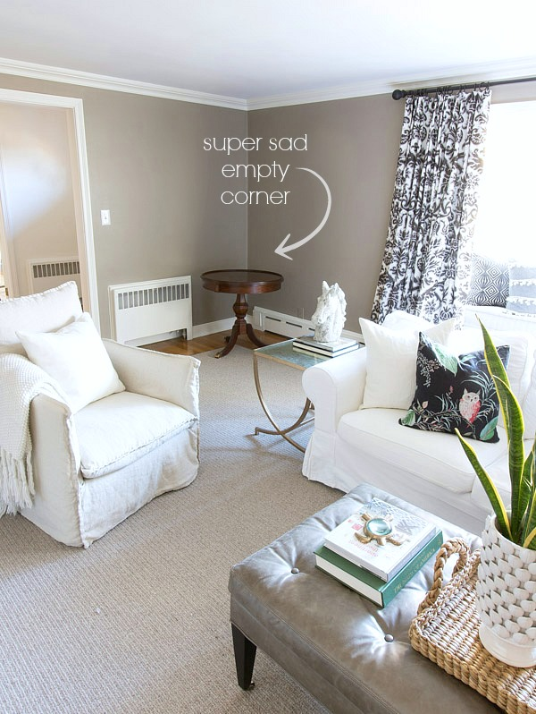 Ideas For Decorating Empty Living Room Corners Www