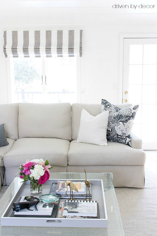 Pillows 101: How to Choose & Arrange Throw Pillows | Driven by Decor
