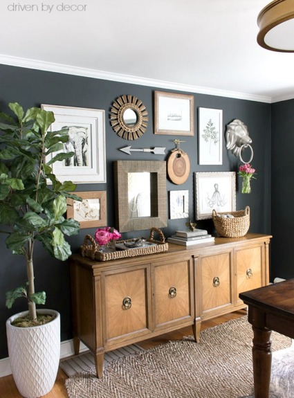 How to Create a Gallery Wall: Tips & My Home Office Art Wall Reveal!