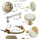 Favorite knobs and pulls - see post for the full list of favorites!