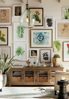 Ideas & Inspiration for Filling up Your Bare Walls with Art!