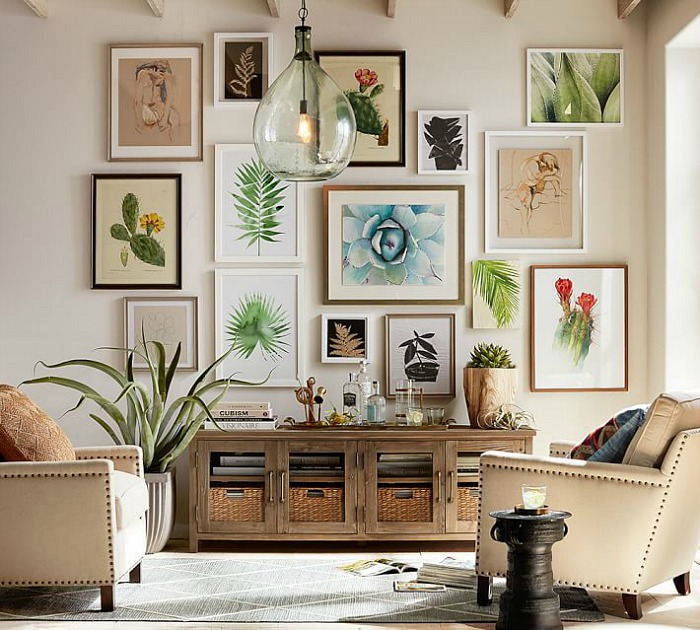 Ideas & Inspiration For Filling Up Your Bare Walls With