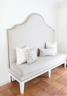 7 Steps to a DIY Upholstered Kitchen Banquette!