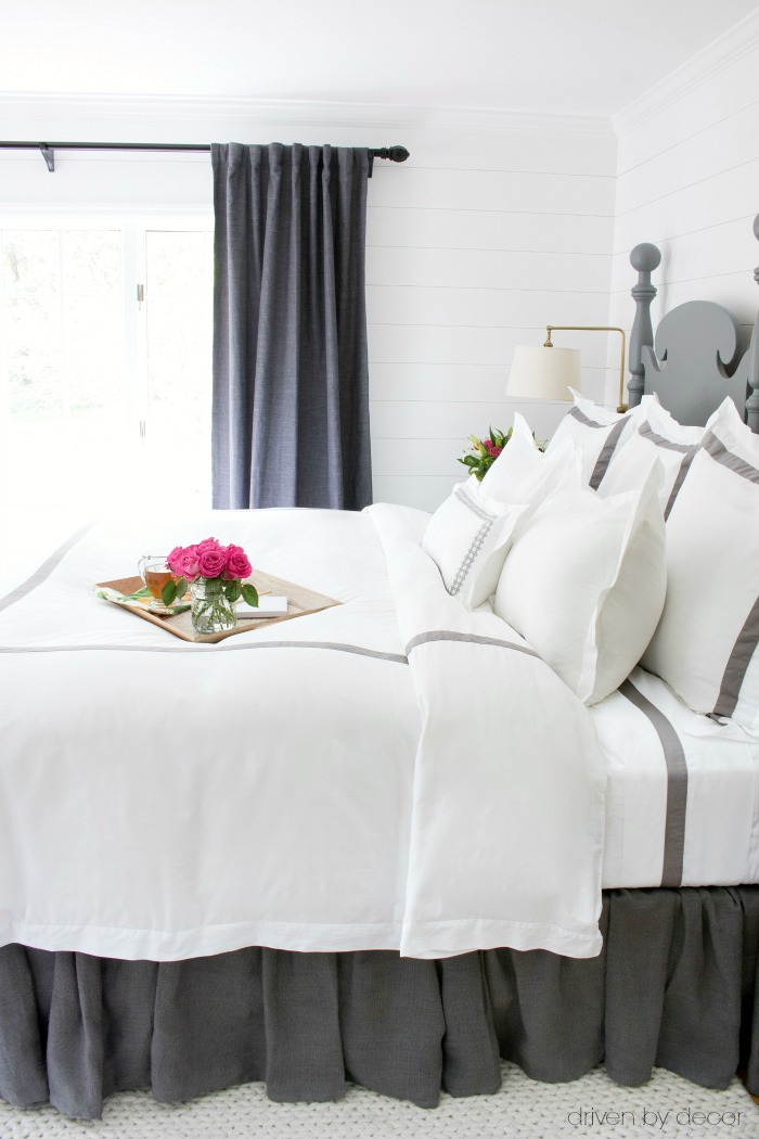 The best sheets and bedding I've found! Links and all the details included in post!