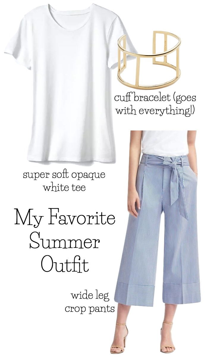 My favorite outfit of the summer that you can dress up or down