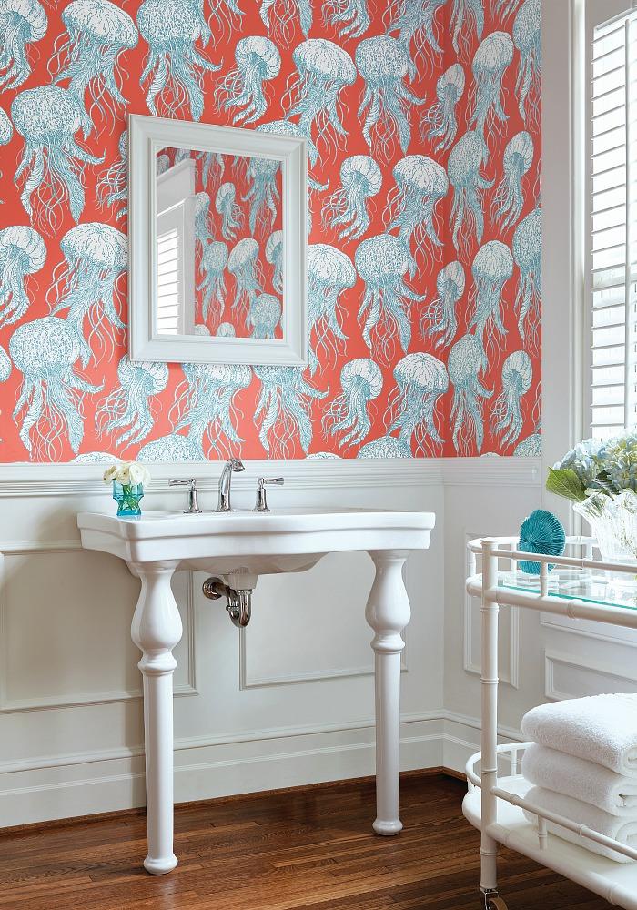 Half Bathroom Wall Decor : Decorating a small bathroom ideas inspiration for