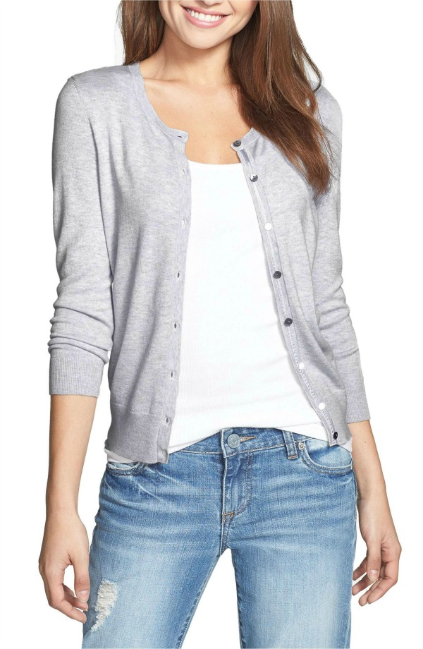 My favorite super soft cardigan! Simple but a great fit and four color options!
