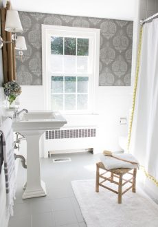 How I Painted Our Bathroom's Ceramic Tile Floors: A Simple (and Cheap!) DIY