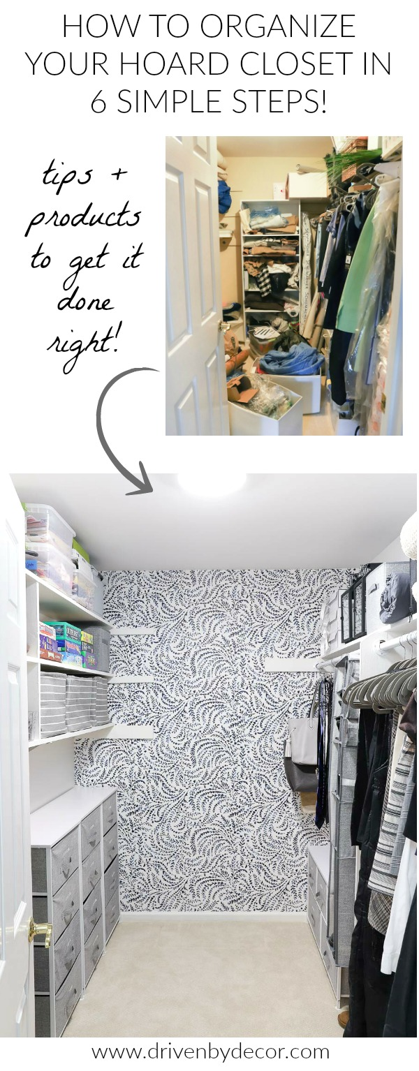 Great Post With The Best Tips And Products For Organizing Even The Messiest  Closet!