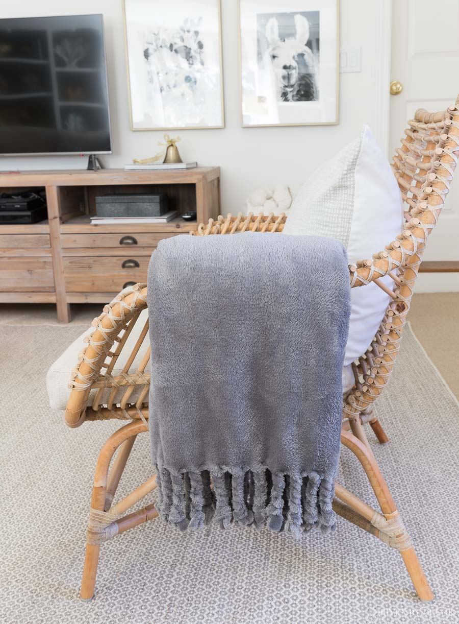 This plush throw is a great Black Friday deal and comes in tons of color options!!