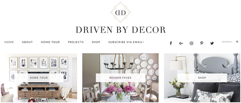 Driven by Decor
