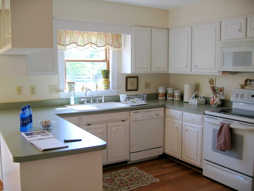 Our previous kitchen before remodeling