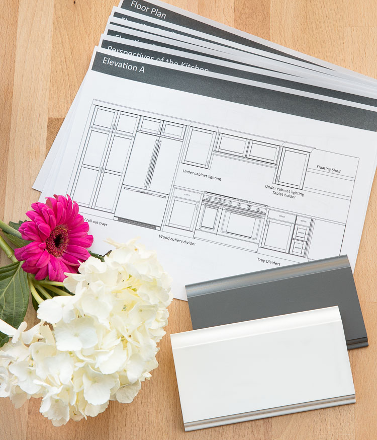 Choosing Our Kitchen Cabinets + Our Kitchen Design Plan!