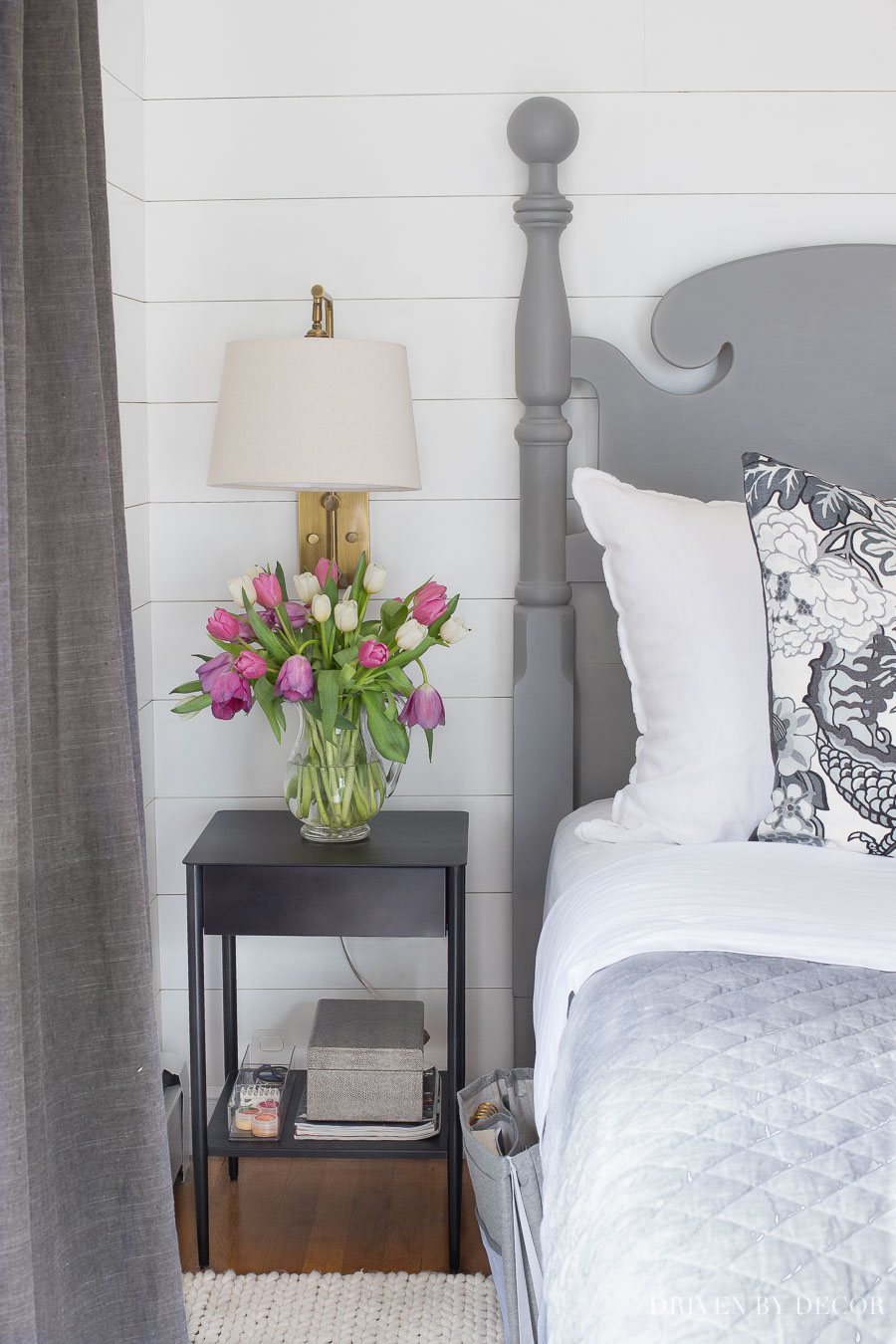 Love these tips for organizing your nightstand!