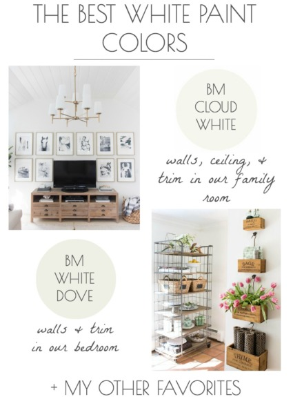 The Best White Paint Colors (My Tried & True Favorites!)