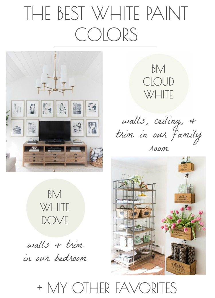 The Best White Paint Colors (My Tried & True Favorites