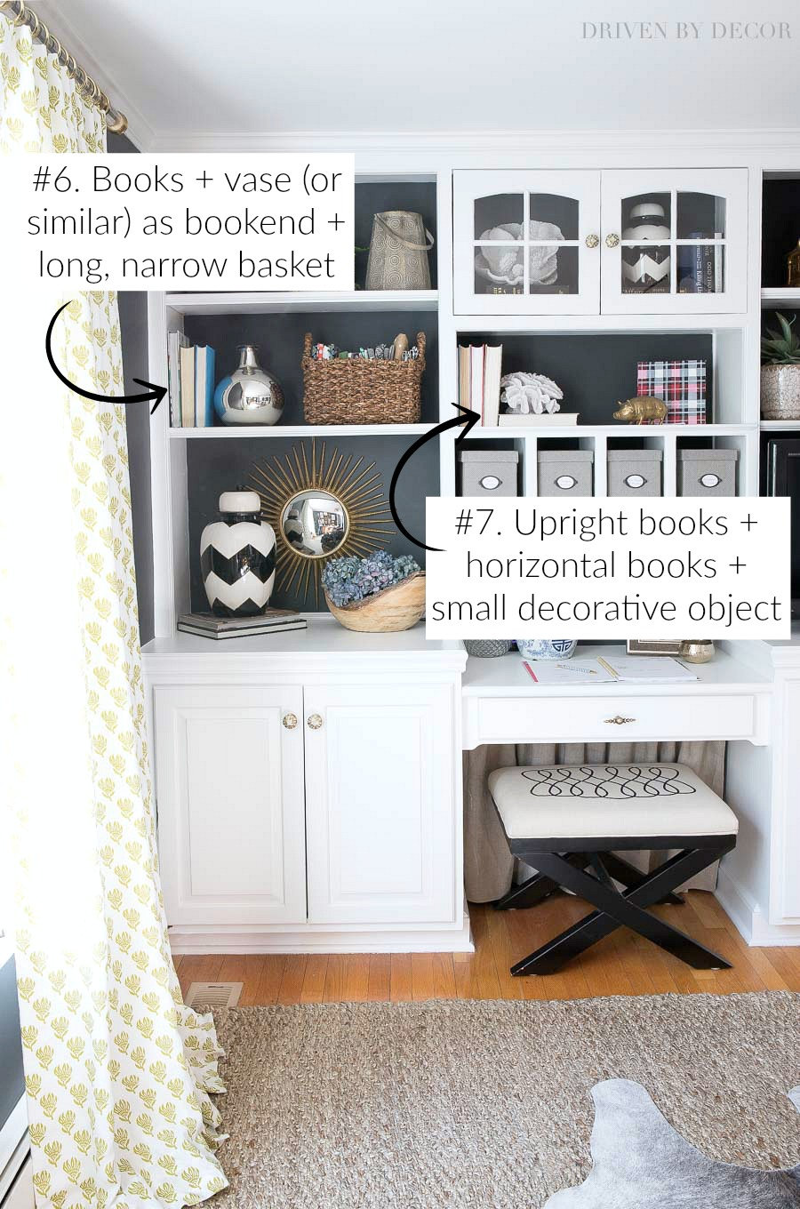 Seven Simple Formulas That Make Styling Shelves And Bookcases SUPER Easy!