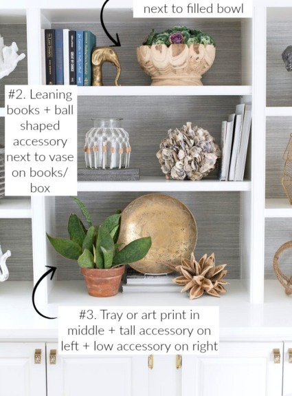 How to Decorate Shelves & Bookcases: Simple Formulas That Work!